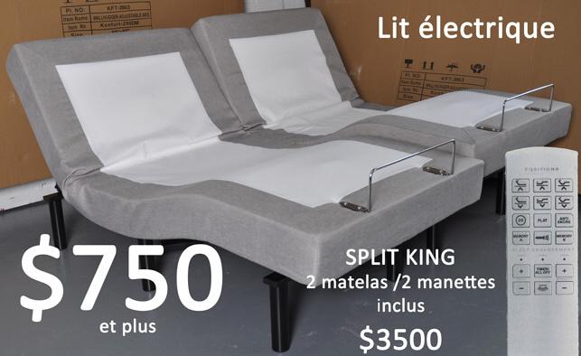 Matelas meilleurs prix en ville montreal laval - Moteur lit electrique en panne ...